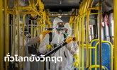 ทั่วโลกติดเชื้อโควิด-19 สะสมเกิน 20 ล้าน WHO เตือนไทยเฝ้าระวังกลุ่มเสี่ยง