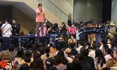 จุฬาฯ เดินหน้าชุมนุม #เสาหลักจะหักเผด็จการ ตะโกนลั่นเผด็จการจงพินาศ