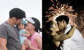 """""""เจนี่-มิกกี้"""" เผยภาพหวานยืนจูบกันสุดโรแมนติก ช่วงวันครบรอบแต่งงาน"""