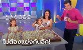 ทีวีบราซิลเชิญ 2 พี่น้องเป่าเทียน 500 เล่มบนเค้ก หลังทะเลาะกันแย่งเป่าในคลิปดัง