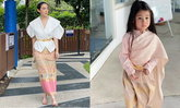 """""""เมย์ ปทิดา"""" เล่าถึง """"น้องมายู"""" กว่าจะใส่ชุดไทยไม่ใช่เรื่องง่าย แต่หนูสวยมาก"""