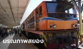 ช็อกกันทั้งสถานี พระจู่ๆ วิ่งไปนั่งพนมมือบนรางให้รถไฟทับ ศีรษะขาดกระเด็น