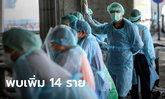 วันนี้ 14 ราย! ศบค.เผยผู้ป่วยโควิด-19 มาจากต่างประเทศ 13 เชียงรายอีก 1
