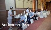 โควิดวันนี้ ศบค.รายงานไทยพบผู้ติดเชื้อเพิ่ม 70 ราย รวมป่วยสะสม 25,951 ราย