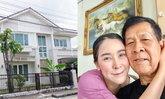 """""""ใหม่ สุคนธวา"""" ขายบ้าน 9.9 ล้าน ซื้อบ้านใหม่ให้พ่อ ยอมเป็นหนี้ก้อนใหญ่ช่วงโควิด"""