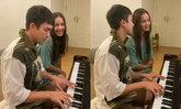 """จบพีคมาก """"ญาญ่า"""" ร้องเพลง """"ณเดชน์"""" เล่นเปียโน ซีนโรแมนติกซีรีส์เกาหลียังแพ้"""