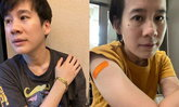 """""""บุ้ง ใบหยก"""" รีวิวการฉีดวัคซีนเข็มแรก เผยจากใจฉีดกันตายกันอาการหนักไปก่อน"""