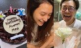 """""""มิว นิษฐา"""" ฉลองวันเกิด 31 ปีแบบนิวนอร์มอล สามีจัดเซอร์ไพรส์มีเพื่อนๆ พร้อมหน้า"""