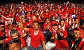 เสื้อแดงแห่ร่วมงานระดมทุน