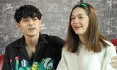 """ครั้งแรก """"เก้า จิรายุ"""" ควง """"วี วิโอเลต"""" เปิดใจจุดเริ่มรัก คบกันมันก็ต้องมีความสุข"""