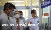 สาธารณสุขแถลงพบผู้ป่วยติดเชื้อ ไวรัสโคโรนา ในไทย 8 รายแล้ว กลับบ้าน 5 รักษาตัว 3