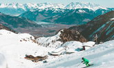 ฝรั่งเศสใช้เฮลิคอปเตอร์ขนหิมะ หลังประสบปัญหาขาดแคลนในสกีรีสอร์ต