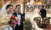 """งานแต่ง """"เก๋ ชลลดา"""" กับ """"ไฮโซพร้อม"""" อบอุ่นและโรแมนติกมาก"""