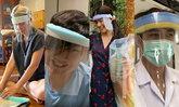รวมดาราจิตอาสา สอนทำ Face Shield ส่งให้ทีมแพทย์พยาบาล ง่ายๆ ใช้ได้จริง (มีคลิป)