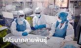 นักวิจัยอังกฤษเผย ไวรัสโคโรนากลายพันธุ์เป็น 3 ชนิด ปรับตัวเอาชนะภูมิต้านทานมนุษย์