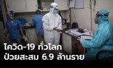 ทั่วโลกป่วยโควิด-19 สะสม 6.93 ล้านราย สหรัฐ -บราซิลวันเดียวเพิ่ม 2 หมื่น