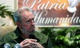ฟิเดล คาสโตร ปรากฏตัวในงานฉลอง 57 ปีปฏิวัติคิวบา
