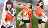 ขาวจั๊วะ! สาวสวยทีม(LNTS) ชวนเล่นบอล