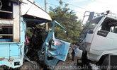 รถนักเรียนชนกับรถน้ำเจ็บ20 สาหัส6