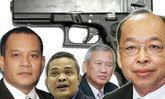 นักการเมืองเสื้อแดงปืนโต 13 คน 47 กระบอก
