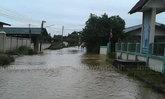 น้ำท่วมเชียงใหม่ลดระดับแล้วพบคอสะพานชำรุด