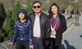 ยิ่งลักษณ์โพสต์เฟซบุ๊คควงทักษิณน้องไปป์เที่ยวกำแพงเมืองจีน