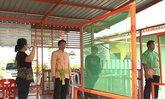 นอภ.เมืองลพบุรี รุดตรวจกระสุนตกใส่บ้าน