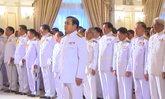 นายกฯเข้าเฝ้าฯพระบรมฯพระราชพิธีเฉลิมพระชนมพรรษา