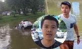 เจอตัวแล้ว! หนุ่มฮีโร่ใจหล่อ โดดคูเมืองช่วยนักศึกษารถจมน้ำ