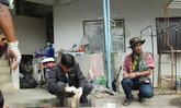 หนุ่มเสพยาบ้ายิงตัวตายบนแฟลตปราจีนบุรี