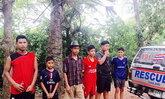 พัทลุงจนท.เข้าช่วยเหลือเด็กหลงป่า6 ราย