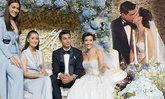 ฉลองงานแต่งแองจี้ ทารีก โรแมนติกมาก เพื่อนดาราร่วมยินดีคับคั่ง
