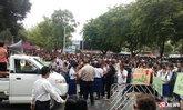 นักเรียนกว่า 3,000 คน ชุมนุมประท้วงเทศบาลนครสงขลา