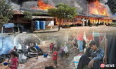 สะเทือนใจ นักเรียนร่ำไห้ ไฟไหม้วอดโรงเรียนพื้นที่ห่างไกล