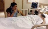 หัวใจแม่แทบสลาย เศรษฐีนี ป.6 นอนกอดลูกน้อยฟื้นจากความตาย