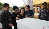 แม่ใจจะขาด เผาศพหนุ่มเกาหลีถูกฆ่าปริศนา ส่วนคดียังไม่คืบ