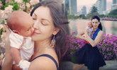 """ยลโฉม """"มายา"""" ลูกสาวแรกเกิดของ นาตาลี เกลโบวา"""