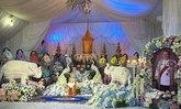 คนสุพรรณฯอาลัย จัดขบวนรับศพ 'บรรหาร' สมเกียรติ