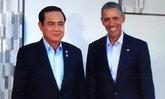นายกฯ จับมือถ่ายภาพคู่โอบามา ถกทวิภาคีเวียดนาม