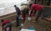 เรือยอร์ชล่มหน้าหาดอ่าวนางเสียหายกว่าล้าน