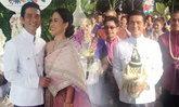 งานแต่ง ทนงศักดิ์ ควงแฟนสาวอายุห่าง 20 ปี วิวาห์เก๋ๆ วิ่งมาราธอน