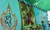 องคมนตรีเปิดงานเฉลิมพระเกียรติราชินีที่ศรีสะเกษ