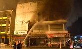 ไฟไหม้ห้างกลางเมืองตรัง หลังเพิ่งมีเหตุระเบิด ตร.เชื่อไม่เกี่ยวกัน