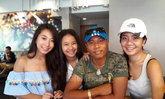 ไมค์ ภิรมย์พร ส่งลูกสาว 2 คน บินกลับไปเรียนต่อที่แคนาดา
