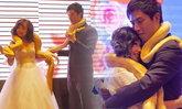 บ่าวสาวจีนสุดแปลก ยกงูหลามยักษ์เป็นของขวัญแต่งงาน