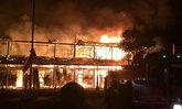 เด็ก 140 คน ไม่มีที่เรียนหนังสือ หลังไฟไหม้อาคารเรียนเสียหายทั้งหลัง