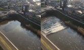 เผยคลิปสึนามิเล็ก หลังแผ่นดินไหว ญี่ปุ่น ขนาด 7.4