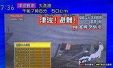 ด่วน แผ่นดินไหว ญี่ปุ่น ขนาด 7.3 ประกาศเตือนสึนามิ