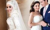 """""""ซีแนม"""" ยังไม่สละโสด คนเข้าใจผิด เห็นรัวรูปสวยในชุดแต่งงาน"""