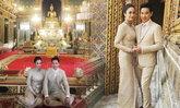 ครีม เปรมสินี ควงแฟนหนุ่ม ปีเตอร์ ทำบุญแต่งงานพิธีไทย